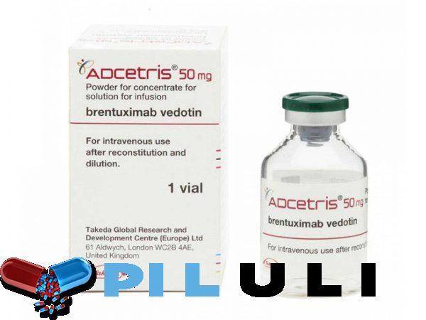 Адцетрис 50 мг 1 фл